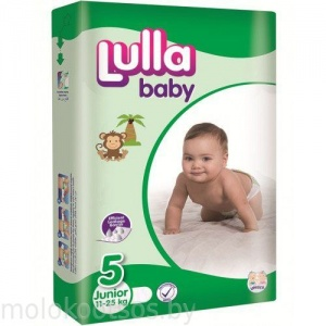 LULLA BABY Подгузники Junior Jumbo Pack 11-25 кг, 52 шт.